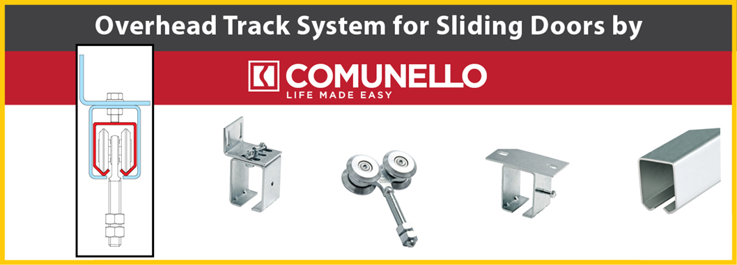 Overhead Track System for Sliding Doors