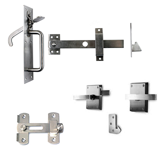 wooden gate latches